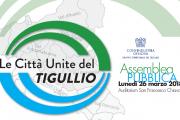 Assemblea pubblica Gruppo Territoriale del Tigullio - 26 marzo, ore 17.00, Auditorium San Francesco (Chiavari)