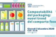 Compostabilita' del packaging: nuovi trend del comparto food - Webinar 3 dicembre pv ore 9.00 - 10.30