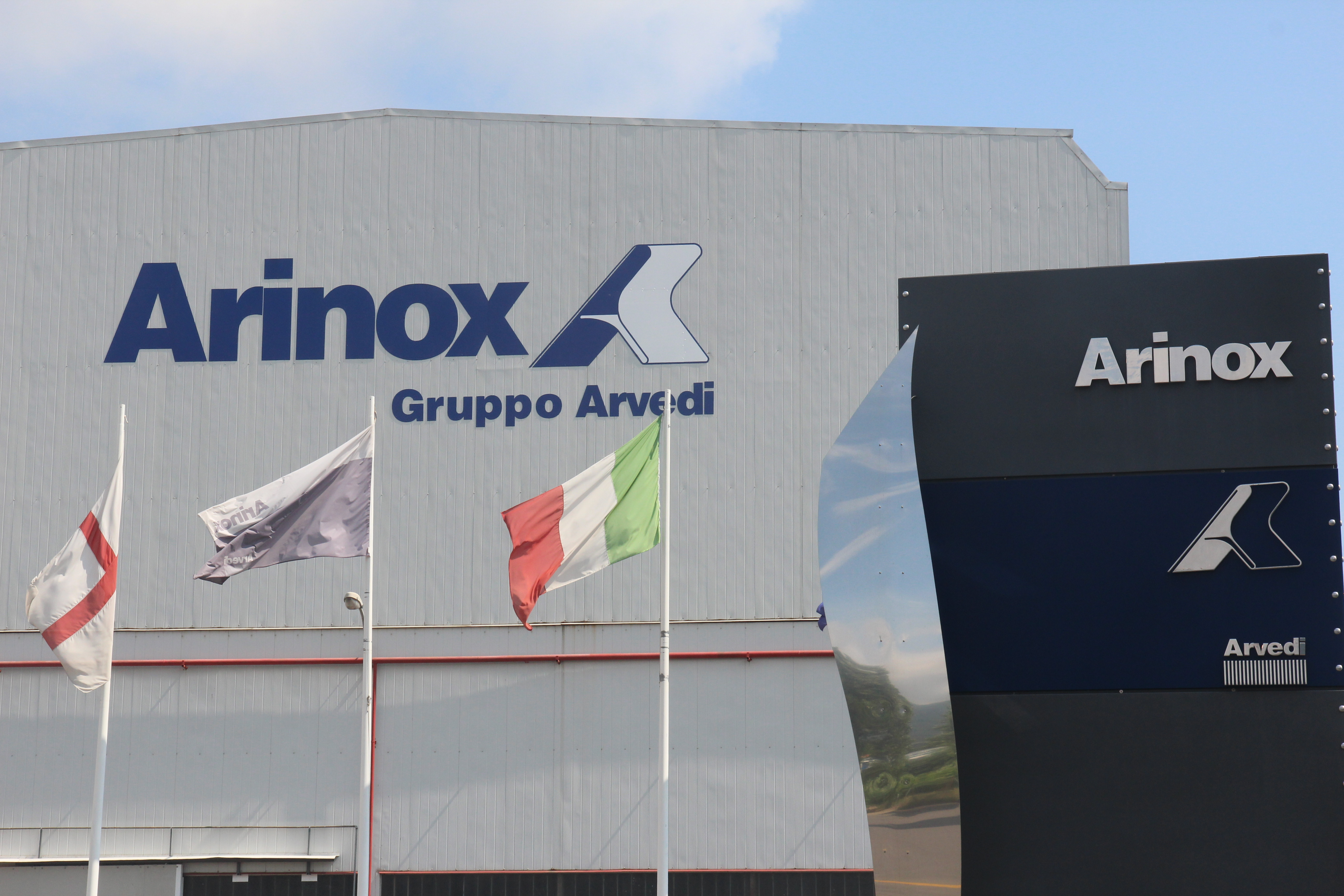 Arinox Ingresso e Logo
